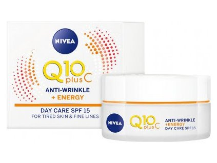 Nivea Q10 Plus C Anti-Wrinkle + Energy Day Care SPF 15 50ml