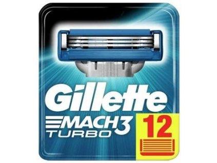 Gillette Mach 3 Turbo 12ks