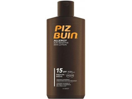 PIZ BUIN Allergy Sun Sensitive Skin Lotion SPF 15 200ml