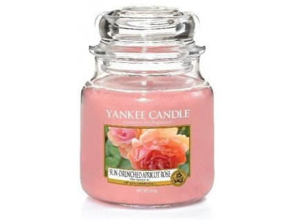 Yankee Candle 411g Sun-Drenched Apricot Rose