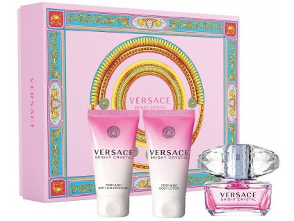 Versace Bright Crystal W EdT 50ml + BL 50ml + SG 50ml