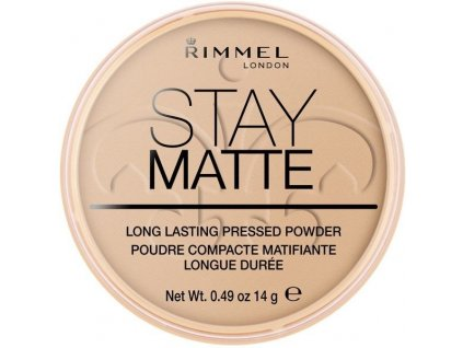 Rimmel London Stay Matte Pressed Powder 14g - 004 Sandstorm
