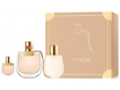 Chloé Nomade W EdP 75ml + BL 100 ml + EdP 5ml