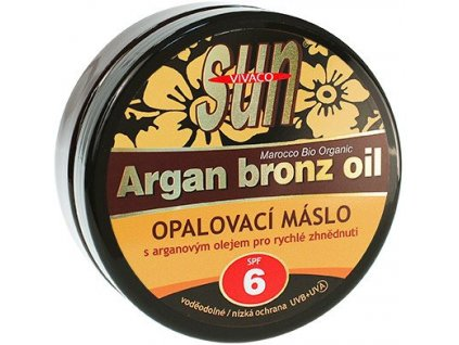 Vivaco SUN Argan Bronze Oil Tanning Butter SPF 6 200ml