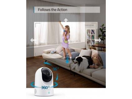 Eufy Indoor Cam 2K Pan & Tilt White (T8410322)