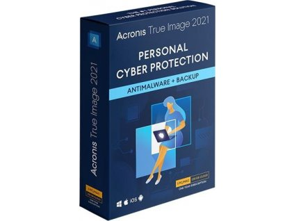 Acronis True Image Advanced Protection Subscription - předplatné na 1 rok, 3 PC, ESD