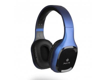 NGS BT sluchátka Artica Sloth, modrá