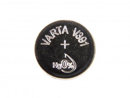 Nenabíjecí knoflíková baterie 391 Varta Silver Oxide 1ks Blistr