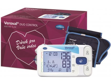 Hartmann Veroval® Duo Control tlakoměr v dárkovém balení