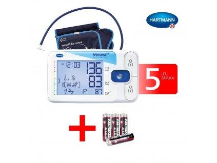 Hartmann Veroval® Duo Control digitální tlakoměr velikost M