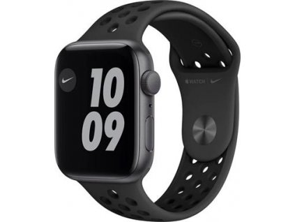 APPLE Watch Nike SE 44mm Space Gray Aluminium Case with Anthracite/Black Nike Sport Band - Regular