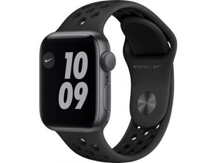 APPLE Watch Nike SE 40mm Space Gray Aluminium Case with Anthracite/Black Nike Sport Band - Regular