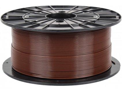Filament PM 1.75 PLA 1kg, hnědá