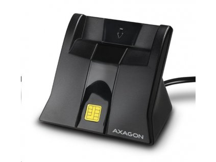 AXAGON CRE-SM4, USB externí StandReader čtečka Smart card