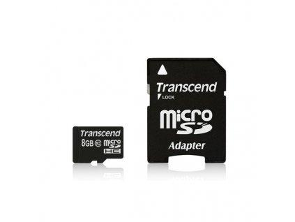 Transcend microSDHC 8GB Class10 (TS8GUSDHC10)