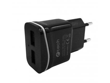 C-Tech UC-03, 2x USB, černá