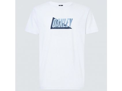Oakley Enhance QD SS Tee mix - white vel.M