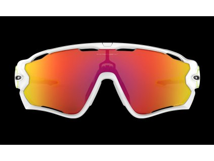 OAKLEY Jawbreaker Origins collection - White polish - PRIZM Ruby