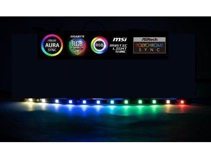 1stCOOL AURA RAINBOW ARGB LED pásek 30cm