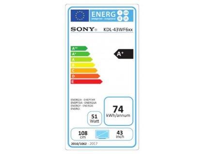 """Sony 43"""" KDL-43WF665"""