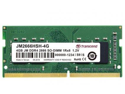 Transcend JetRam 4GB DDR4 SO-DIMM 2666MHz CL19 1Rx18