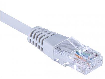 Masterlan comfort patch kabel UTP Cat5e,0,5m,šedý