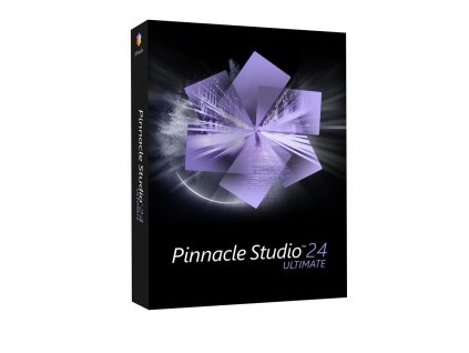Pinnacle Studio 24 Ultimate - BOX, CZ (Upgrade)