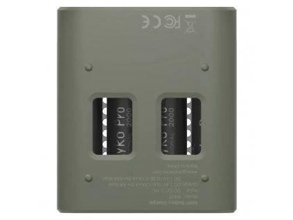 Nabíječka baterií GP Speed M451 + 4× AA ReCyko Pro