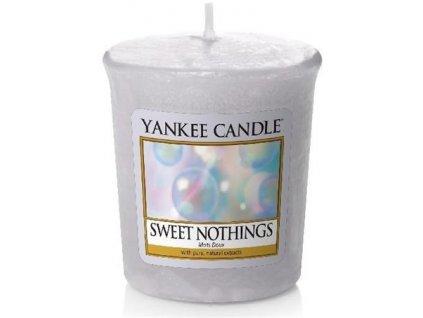 Yankee Candle votivní svíčka 49g Sweet Nothings