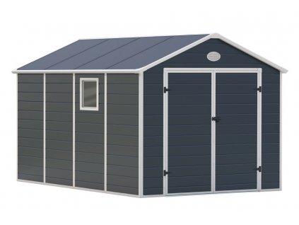 G21 PAH 882, Zahradní domek 241 x 366 cm, šedý