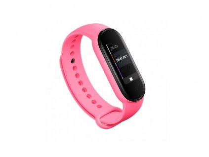 Tactical Silikonový Řemínek pro Xiaomi Mi Band 5 Pink - růžový