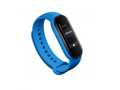 Tactical Silikonový Řemínek pro Xiaomi Mi Band 5 Blue - modrý