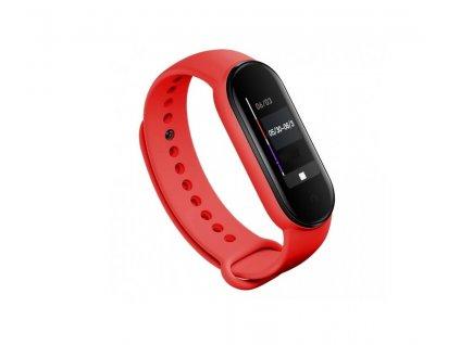 Tactical Silikonový Řemínek pro Xiaomi Mi Band 5 Red - červený