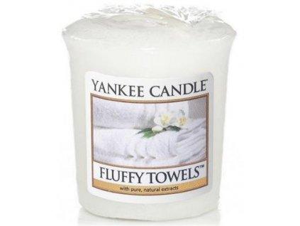 Yankee Candle votivní svíčka 49g Fluffy Towels