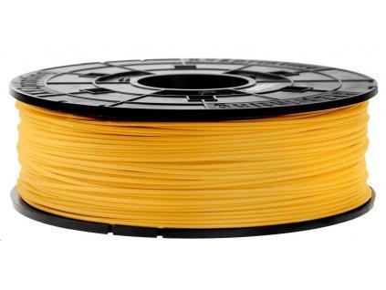 XYZ da Vinci filament pro 3D tisk, PLA, Antibakteriální, 1,75mm, 600g, žlutá
