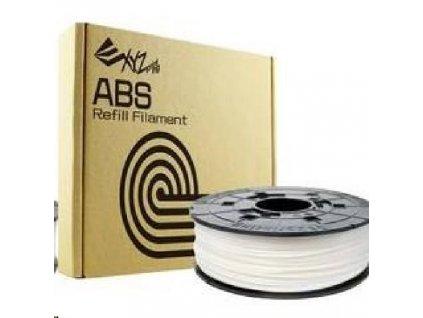 XYZ da Vinci filament pro 3D tisk, ABS, 1,75mm, 600g, přírodní bílá
