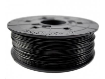 XYZ da Vinci filament pro 3D tisk, ABS, 1,75mm, 600g, černá