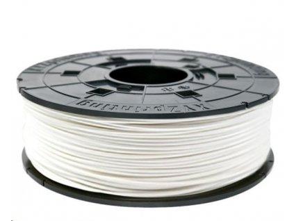 XYZ da Vinci filament pro 3D tisk, ABS, 1,75mm, 600g, sněhově bílá