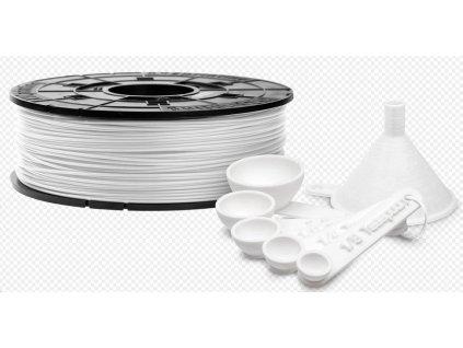 XYZ da Vinci filament pro 3D tisk, PLA, Antibakteriální, 1,75mm, 600g, bílá