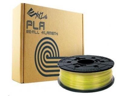 XYZ da Vinci filament pro 3D tisk, PLA, 1,75mm, 600g, žlutá