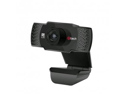 C-TECH webkamera CAM-11FHD, 1080P, černá