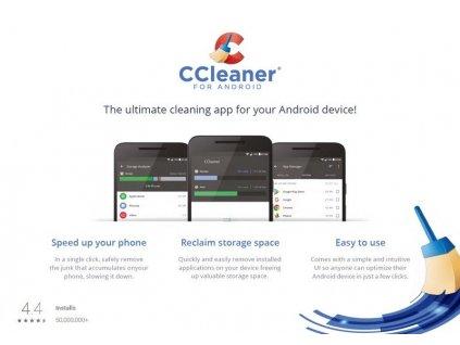 AVG CCleaner pro Android - kartička
