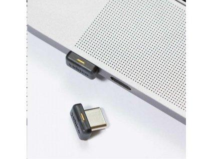 YubiKey 5C Nano - USB-C, miniaturní klíč/token s vícefaktorovou autentizaci, podpora Smart Card (2FA)