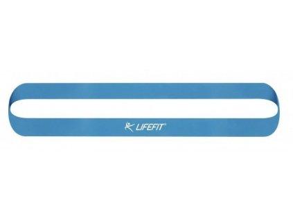 Posilovací guma LIFEFIT KRUH MEDIUM, sv. modrá