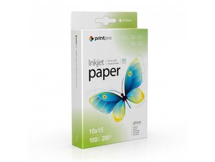 ColorWay fotopapír PrintPro lesklý 200g/m2, 10x15cm, 100 listů