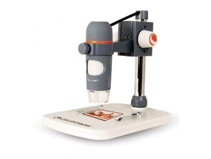Celestron mikroskop digitální 5 Mpx zvětšení 20 až 200x (44308)