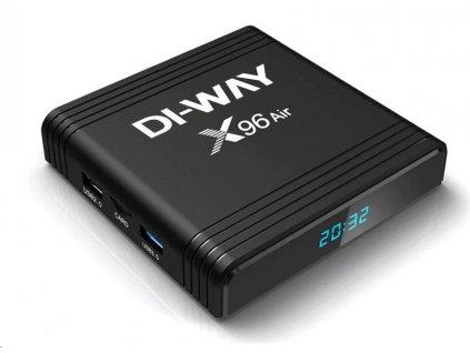 DI-WAY AND-X96 GIGABIT 8K UHD 4-Core 4GB RAM, 32GB ROM, 5G, 3xUSB