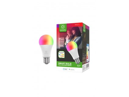 WOOX Smart WiFi LED Bulb E27 RGB+CCT
