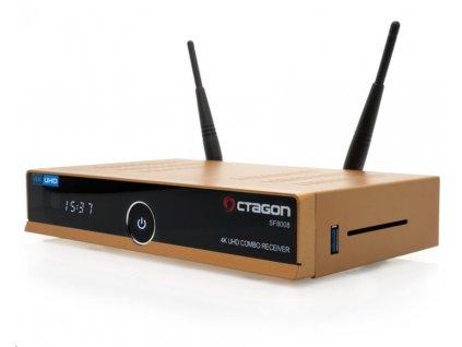 OCTAGON SF8008 Combo GOLD 4K UHD Enigma 2, DVB-S2X, DVB-T2/C