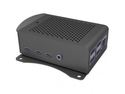 Joy-it PI case Alu-wall pro Pi 4 B, černá
